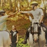 9. Pravěk - jízdy na koních